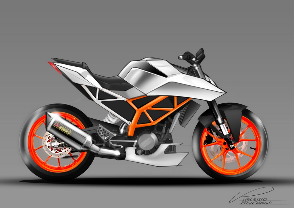 second generation ktm duke 390 rendered, looks badass | motorbeam