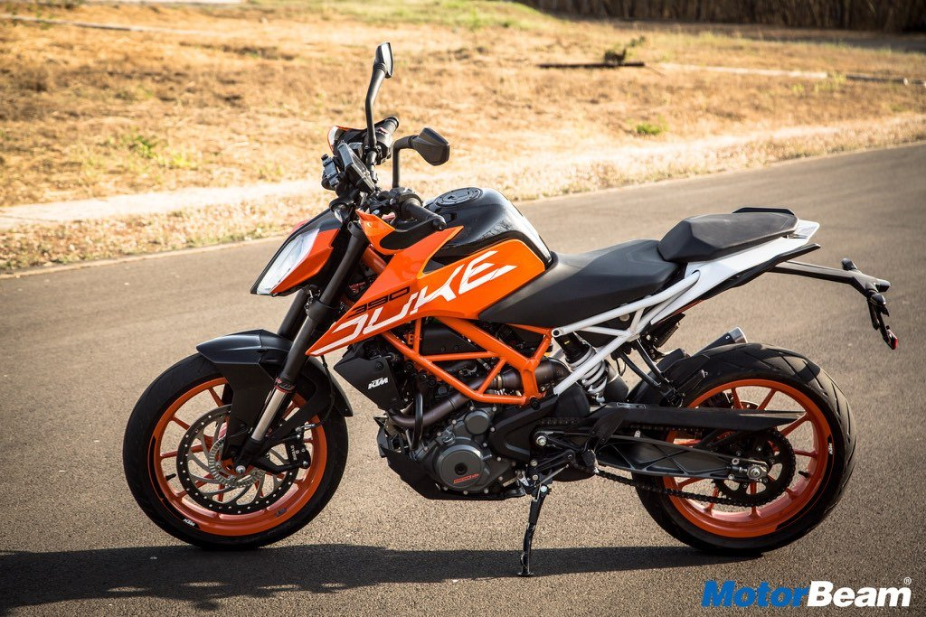 2017 KTM Duke 390 Specifications