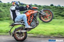 2017 KTM Duke 390 Test Ride