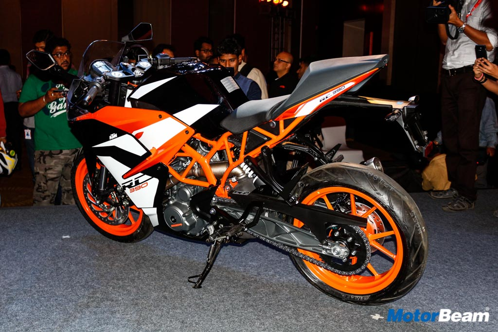 2017 ktm rc 200, rc 390 launched, priced from rs. 1.72 lakhs