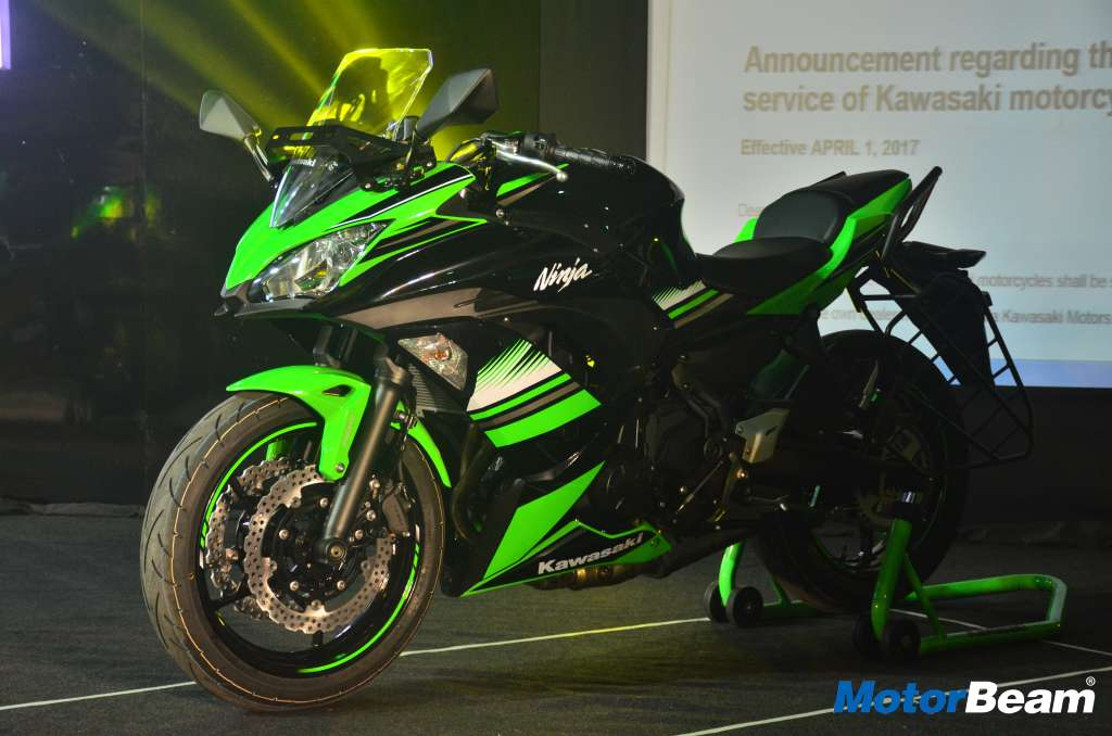 2017 Kawasaki Ninja 650 Price Is Rs. 5.69 Lakhs In India