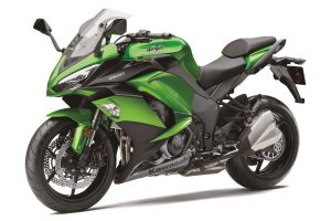 2017 Kawasaki Ninja Front Three Quarter