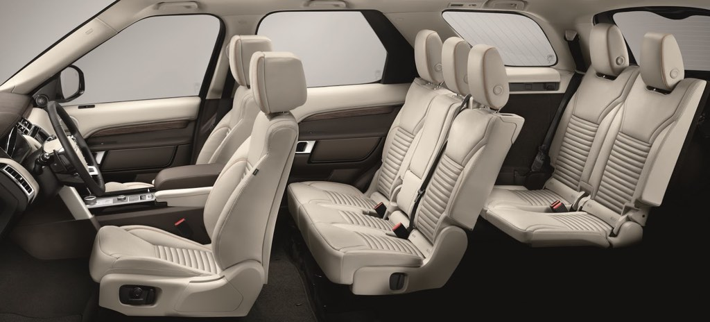 2017 Land Rover Discovery Interiors