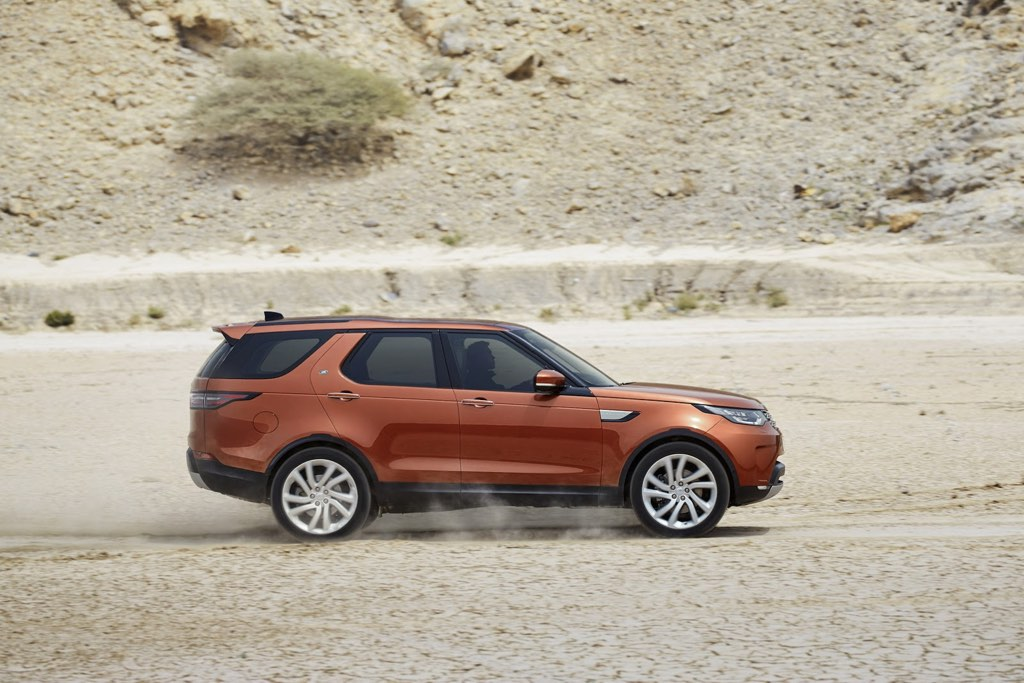 2017 Land Rover Discovery Side