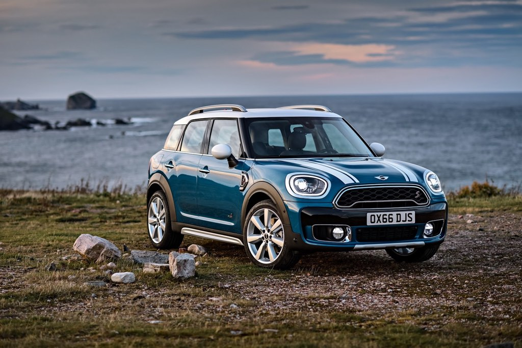 The new styling adds some muscle to the appearance of the countryman