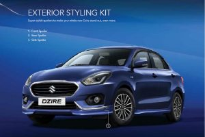 2017 Maruti DZire Accessories