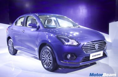 2017 Maruti DZire Launched, Priced From Rs. 5.45 Lakhs