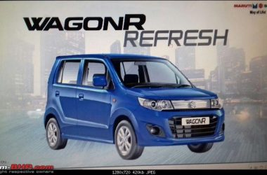 2017 Maruti Wagon R Refresh Priced From Rs. 4.13 Lakhs