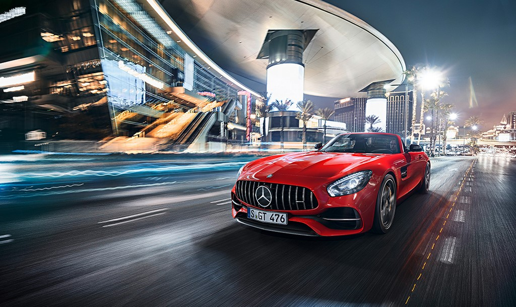 2017 Mercedes AMG GT Roadster India