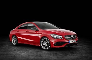 2017 Mercedes CLA Front