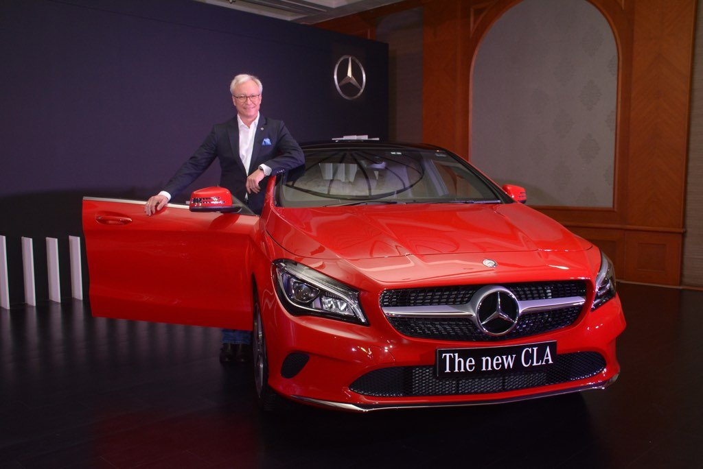 2017 Mercedes CLA Launched
