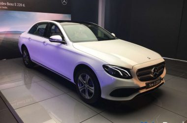 Mercedes E220d LWB Launched, Priced At Rs. 57.14 Lakhs [Live]
