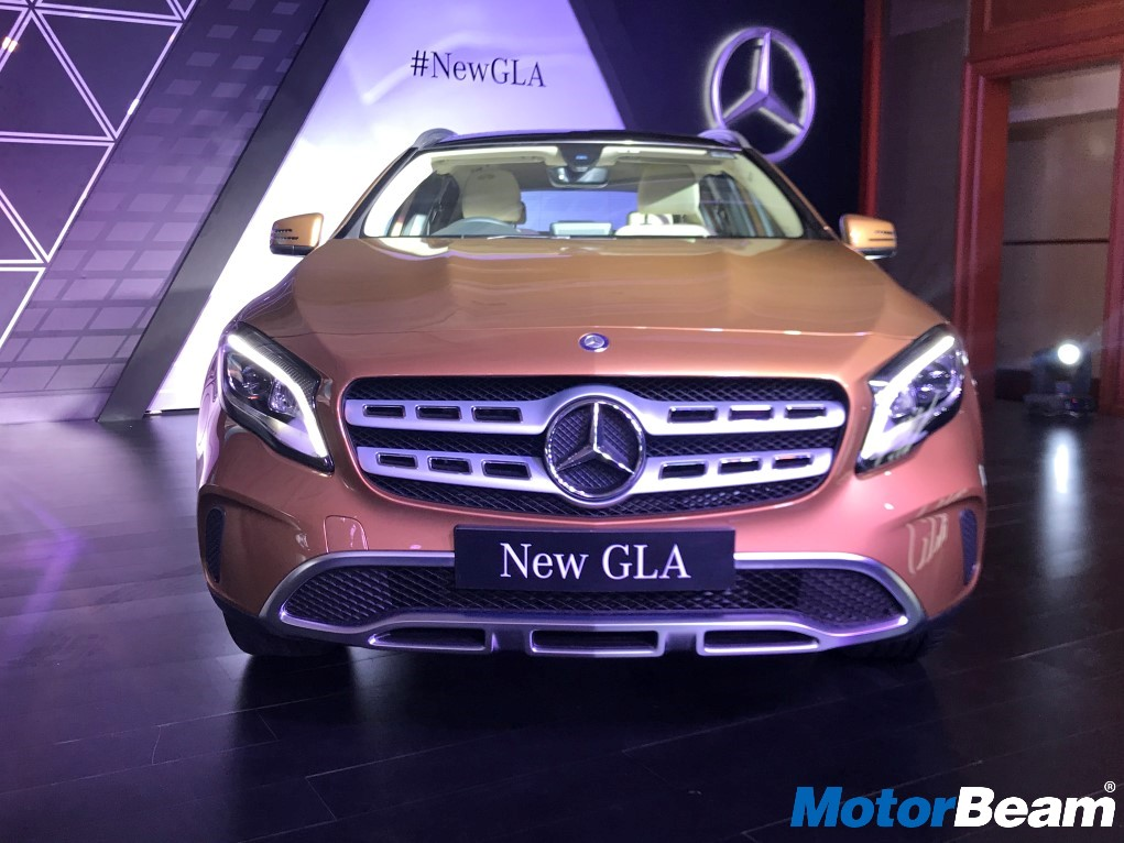 2017 Mercedes GLA India Launch