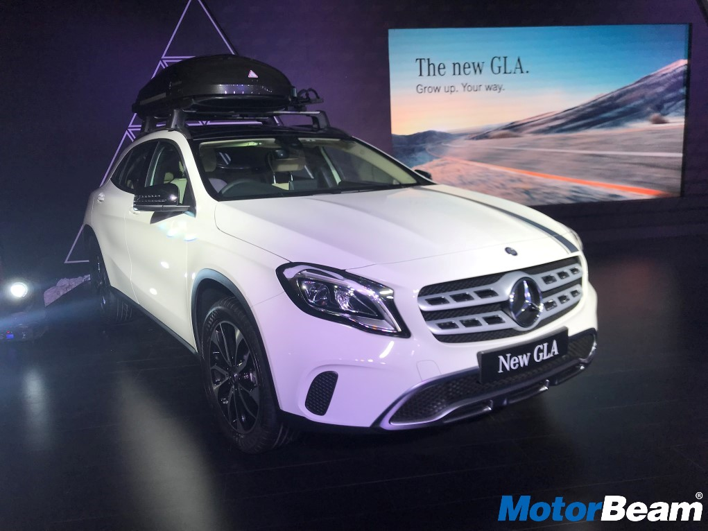 2017 Mercedes GLA Launch