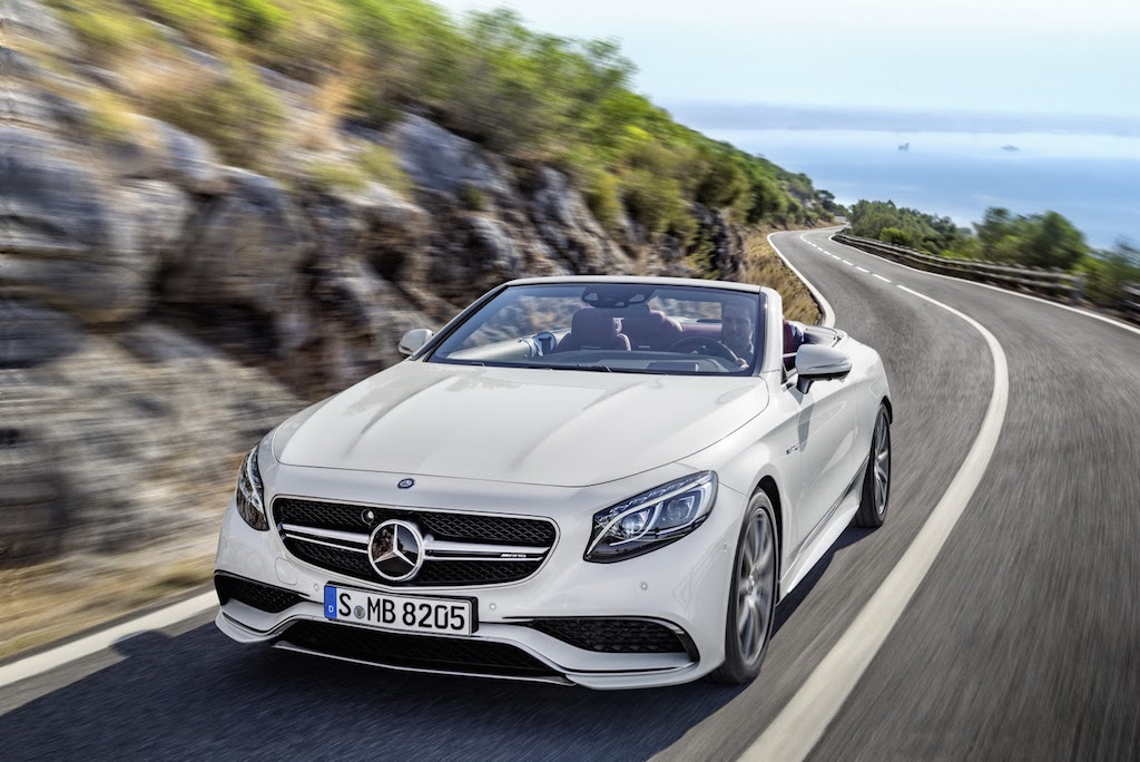2017 Mercedes S-Class Cabriolet Features
