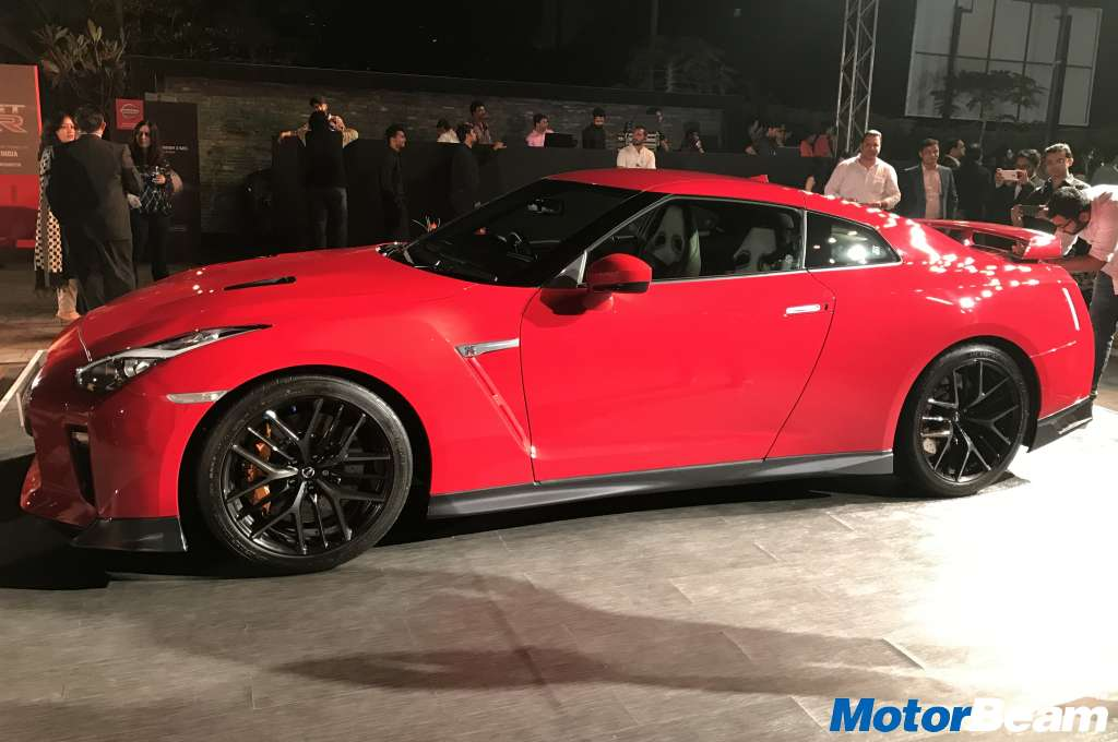 2017 Nissan GT-R India Launch