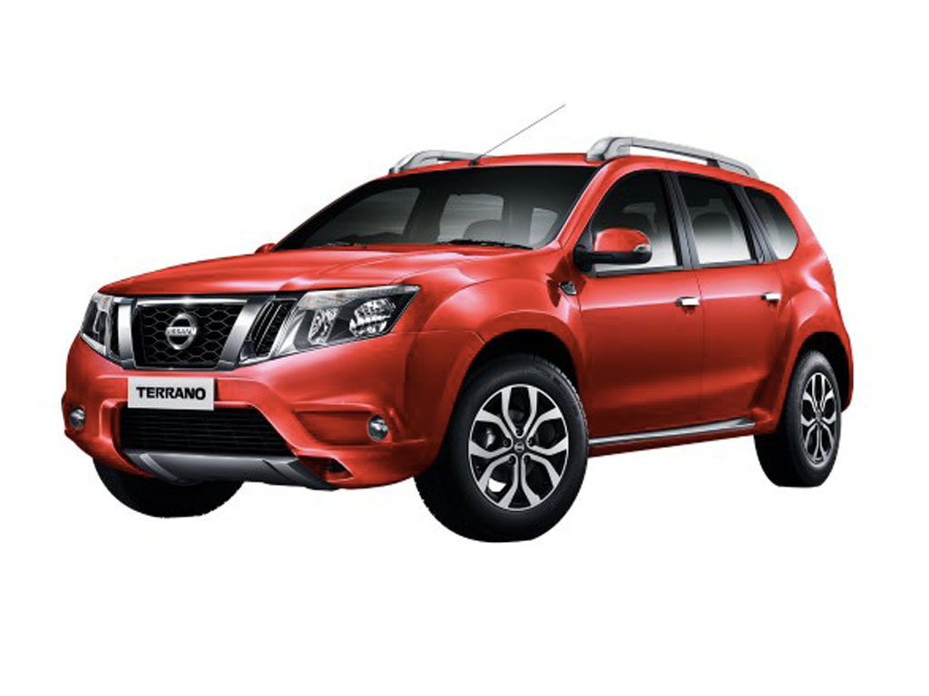 Nissan Terrano Red