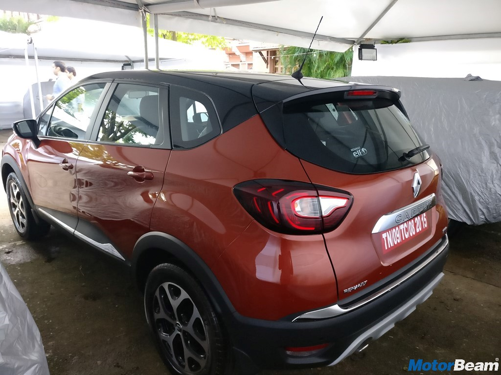 2017 Renault Captur Side Profile