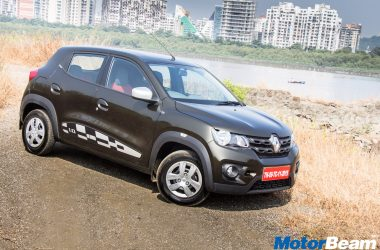 60% Renault Kwid Sales Come From 1.0 Variants, 30% From AMT