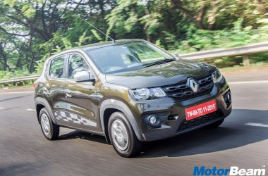 Renault Kwid AMT Launched, Priced At Rs. 4.25 Lakhs