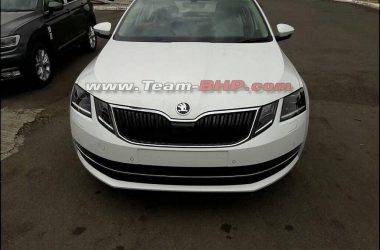 Skoda Octavia Facelift Images Leaked Ahead Of Launch