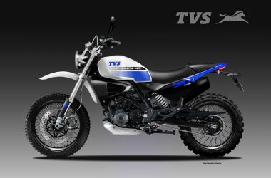 BMW G310 GS Based TVS Apache SCR Concept Rendered