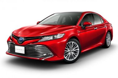 2017 Toyota Camry Japan