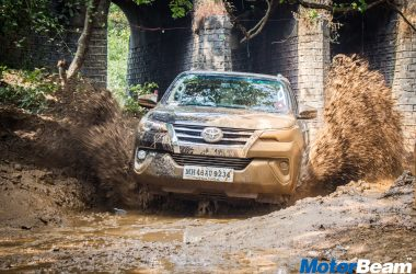 2017 Toyota Fortuner Off-Road