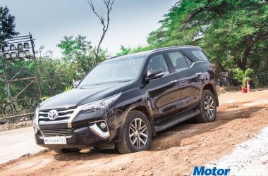2017 Toyota Fortuner Off-Road Experience