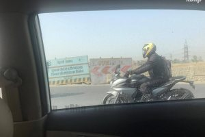 Yamaha Fazer 250 Spotted Without Camouflage