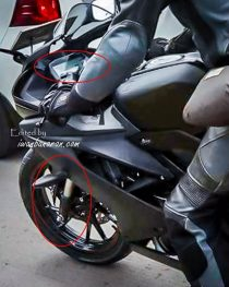 2017 Yamaha R15 Spied Front
