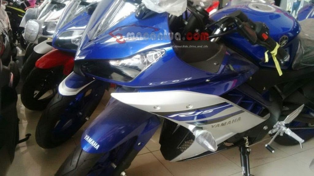 2017 Yamaha R15 Spotted