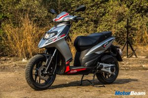 2018 Aprilia SR 125 Test Ride Review
