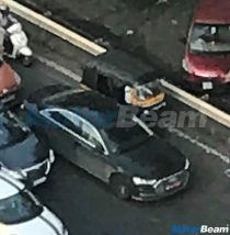 2018 Audi A8 Front Spied