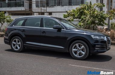 2018 Audi Q7 Petrol Test Drive Review