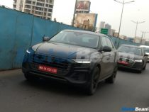 2018 Audi Q8 And A8 Spied In India