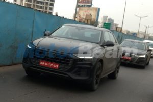 2018 Audi Q8 Spotted Testing In India Along With New A8