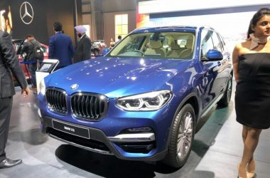 2018 BMW X3 Showcased At Auto Expo, India Launch This Year