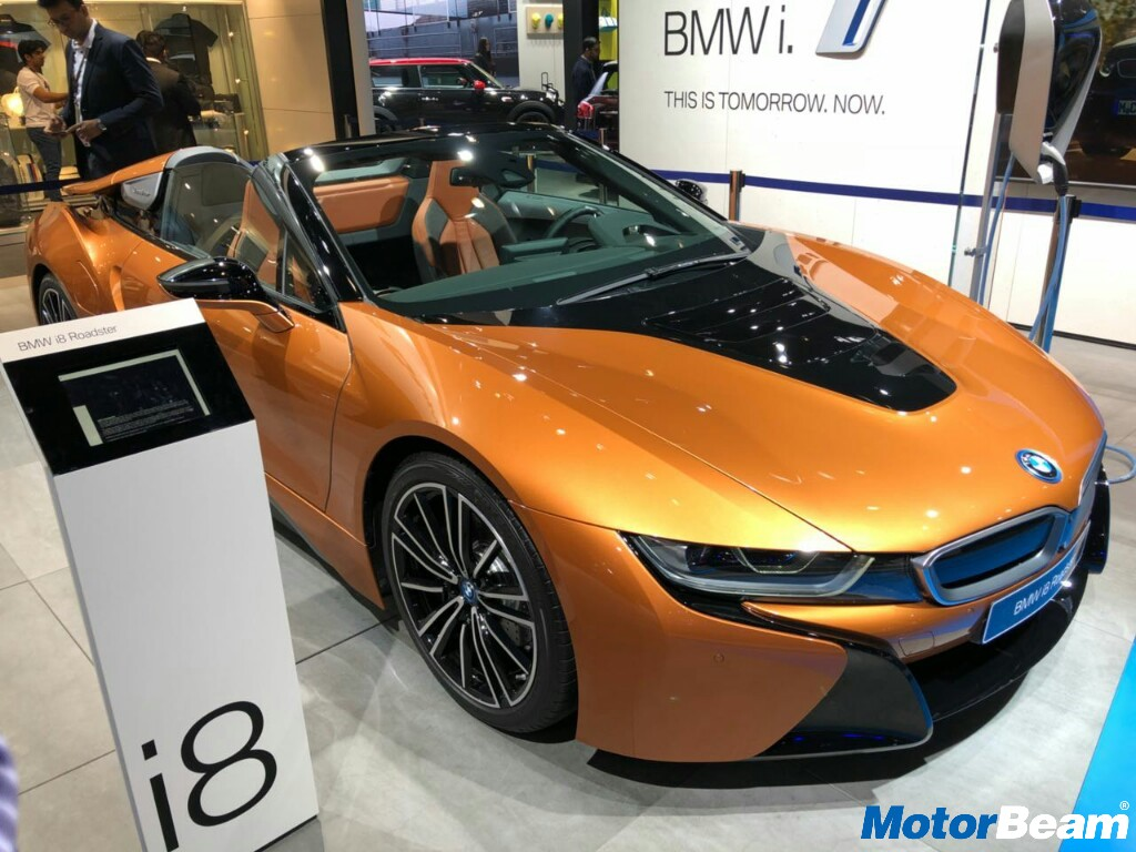 Bmw I8 Roadster Showcased At 2018 Auto Expo India Launch Soon