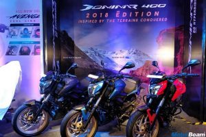2018 Bajaj Dominar Matte Edition