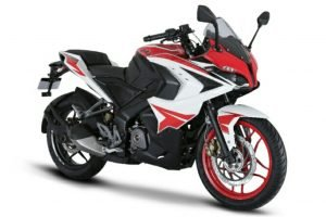 2018 Bajaj Pulsar RS 200 Racing Red Edition