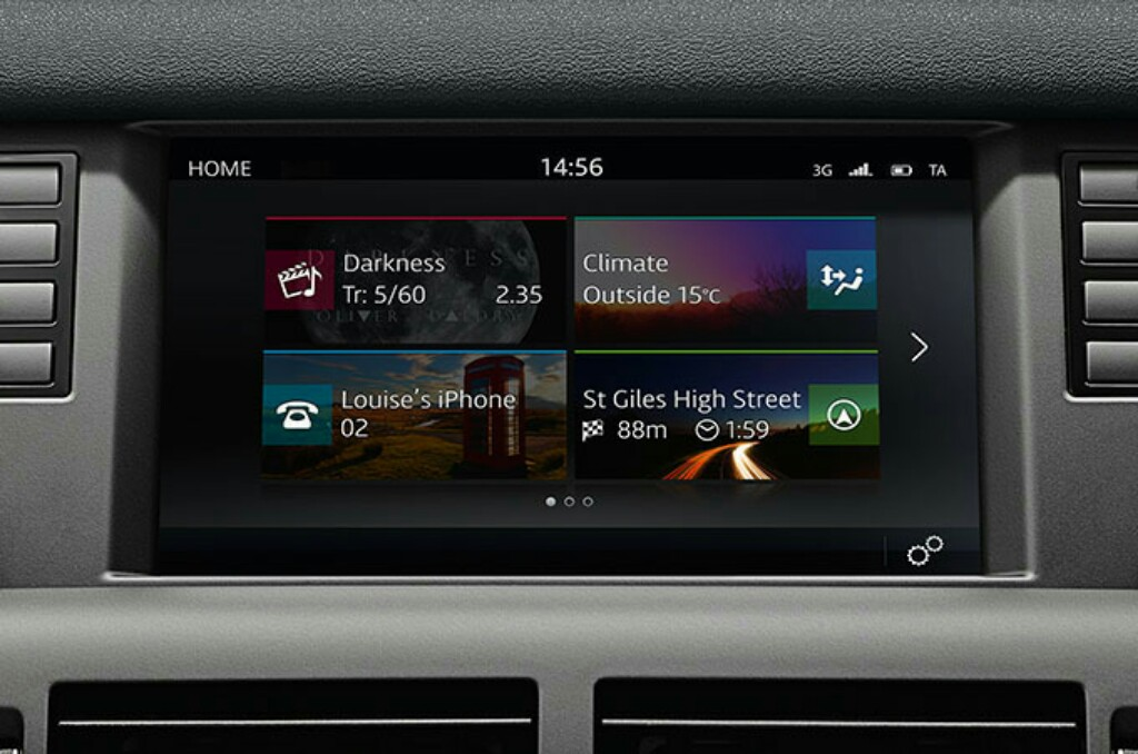 2018 Discovery Sport InControl Touchscreen