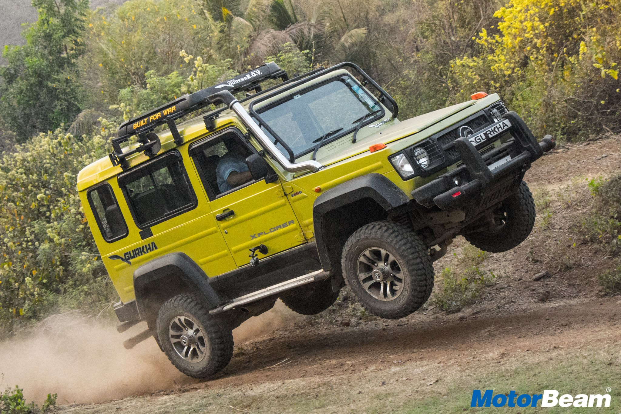 2018 Force Gurkha Review Test Drive