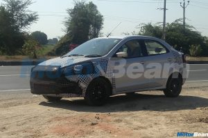 2018 Ford Aspire Spied Ahead Of Launch