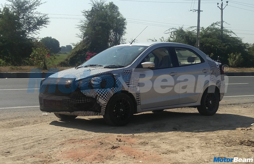 2018 Ford Aspire Side Profile