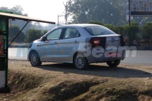 2018 Ford Aspire Spied