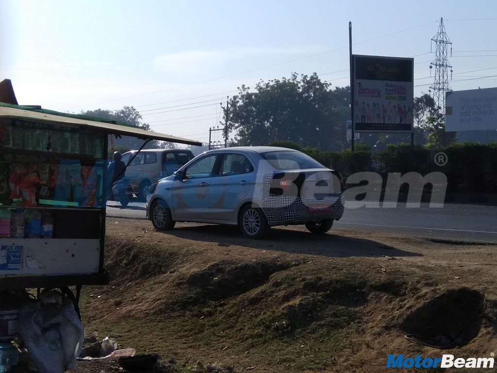 2018 Ford Aspire Spotted On Test