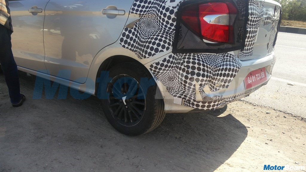 2018 Ford Aspire Spotted