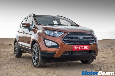 2018 Ford EcoSport S Image Gallery