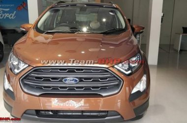 Ford EcoSport Titanium S Spied Yet Again, Gets Sunroof